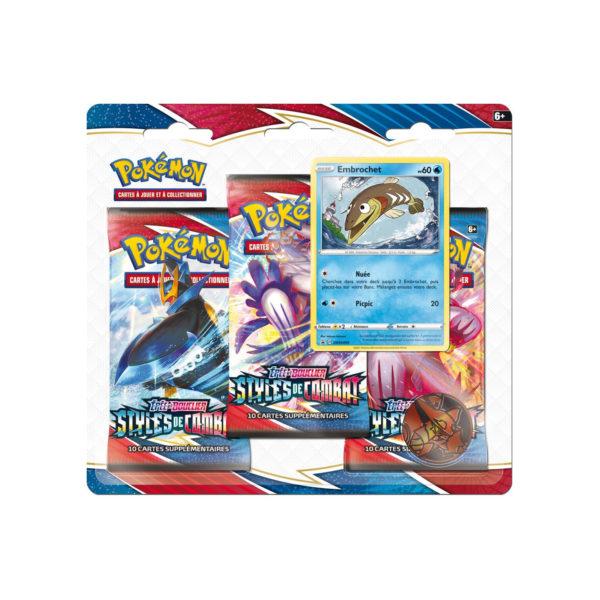 Epée Et Bouclier 5 Pack 3 Boosters VF NEUF Pokemon