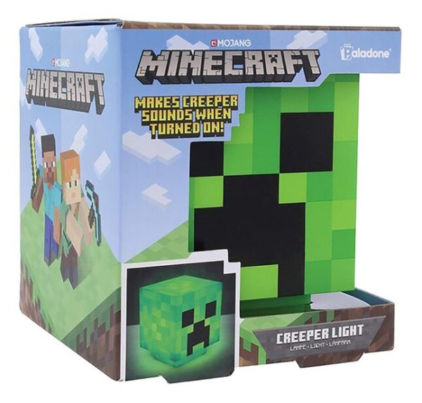 Minecraft : Creeper NEUF Lampe