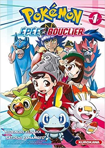 Pokemon Epée Et Bouclier NEUF Manga