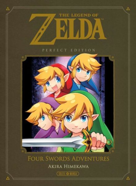 Zelda : Four Sword Adventures NEUF Manga