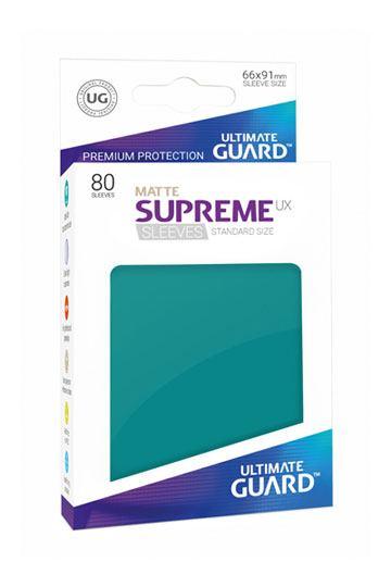 80 Sleeves Standard Bleu Petrole Mat NEUF Ultimate Guard