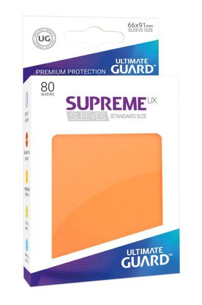 80 Sleeves Standard Orange NEUF Ultimate Guard