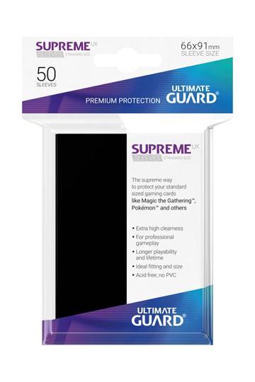 50 Sleeves Standard Noir NEUF Ultimate Guard