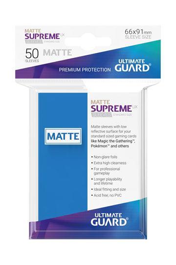 50 Sleeves Standard Bleu Roi Mat NEUF Ultimate Guard