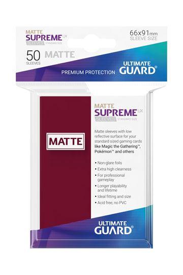 50 Sleeves Standard Bourgogne Mat NEUF Ultimate Guard