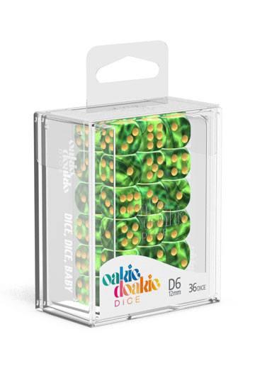 Dés D6 12mm Gemidice Jungle NEUF Oakie Doakie