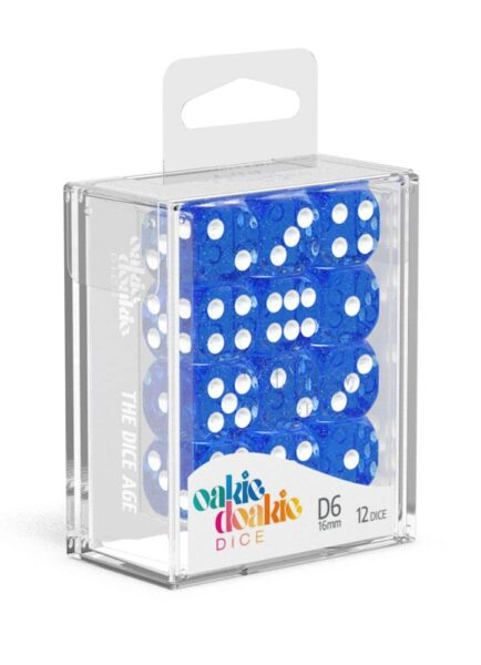 Dés D6 16mm Speckled Bleu NEUF Oakie Doakie