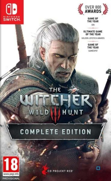 The Witcher 3 : Wild hunt OCCASION Nintendo Switch