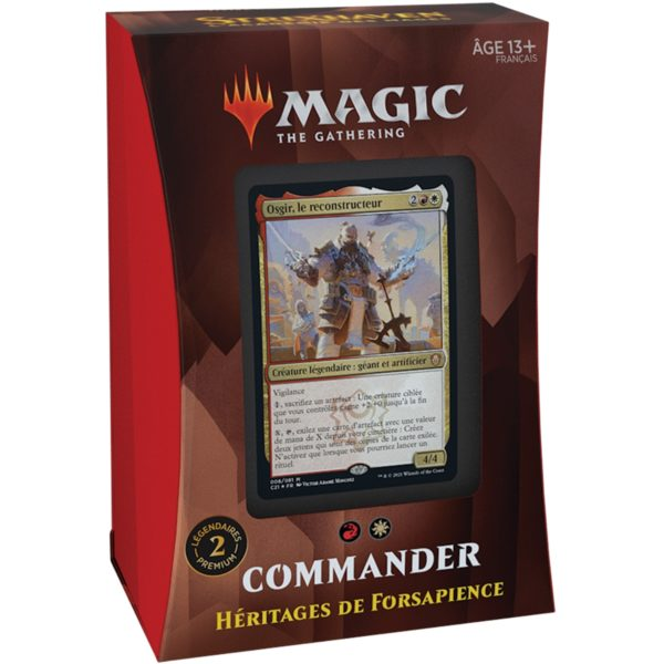 Strixhaven Deck Commander FR NEUF Magic The Gathering