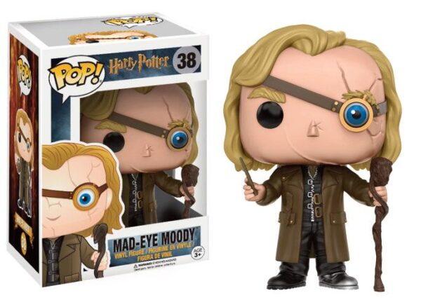 Harry Potter : Maugrey Fol Oeil NEUF Funko POP!