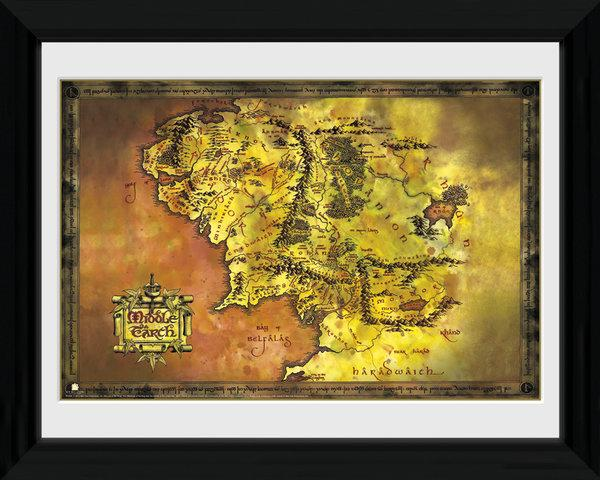 Lord Of The Ring : Middle Earth NEUF Cadre