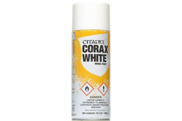 Spray Corax White NEUF Citadel