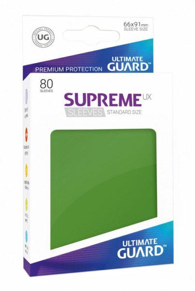 80 Sleeves Standard Vert NEUF Ultimate Guard