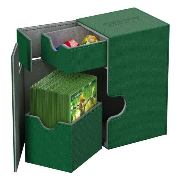 Flip N'Tray Deck 80+ Xeno Vert NEUF Ultimate Guard