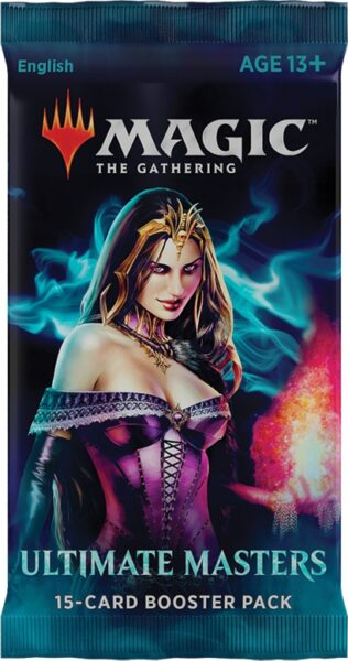 Ultimate Masters Draft Booster Unité VO NEUF Magic The Gathering