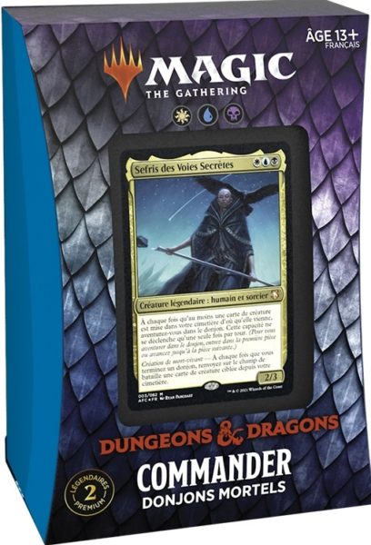 AFR Commander Dungeons Of Death FR NEUF Magic The Gathering