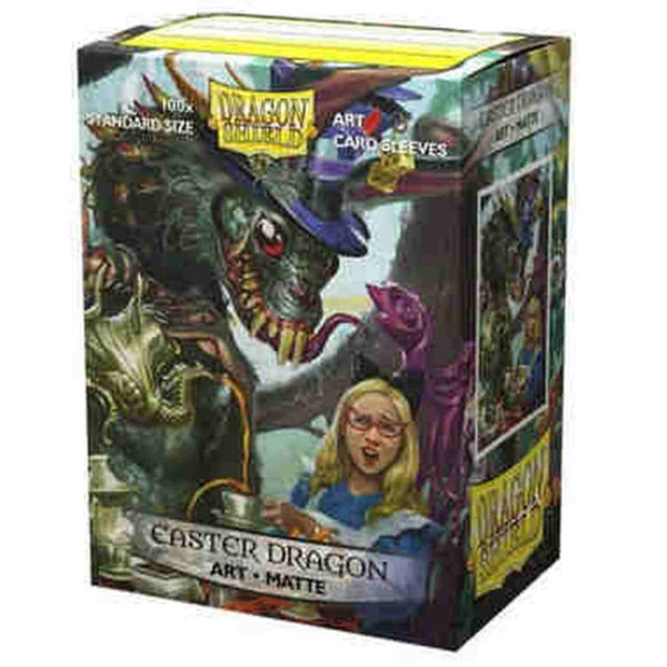100 Art Matte Sleeves Easter Dragon NEUF Dragon Shield