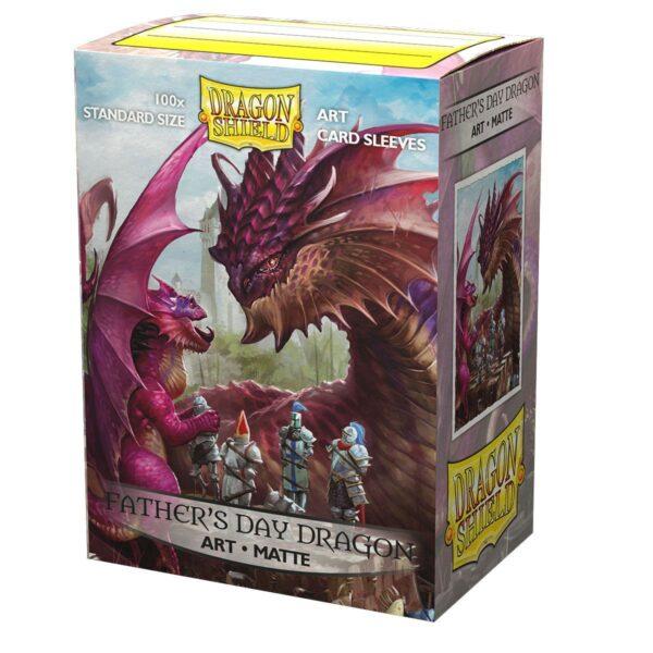 100 Art Matte Sleeves Father's Day Dragon NEUF Dragon Shield