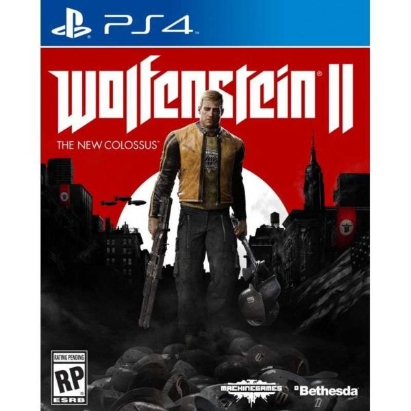 Wolfenstein II The New Colossus OCCASION Playstation 4