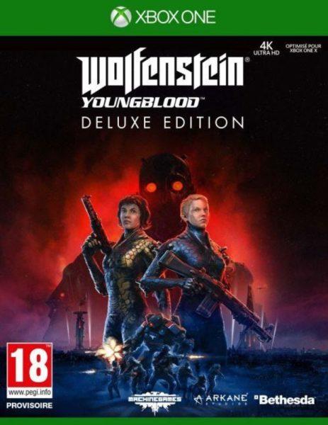 Wonlfenstein : YoungBlood Deluxe Edition OCCASION Xbox one