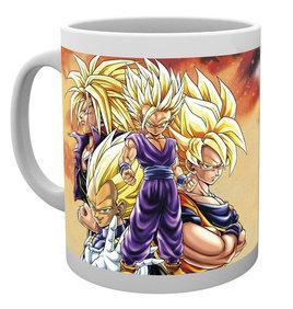 Dragon Ball Z : Super Saiyans 300ml NEUF Mugs